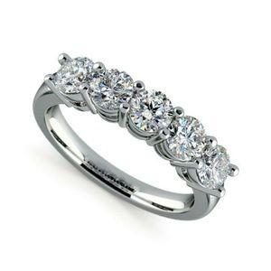 2.6ct Diamond Cut White Topaz 925 Sliver Ring